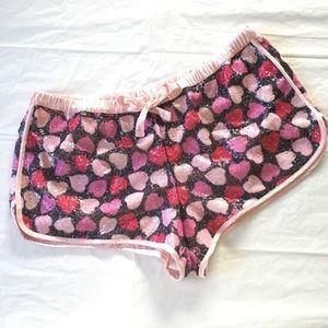 Victoria's Secret Heart Shorts Size Large
